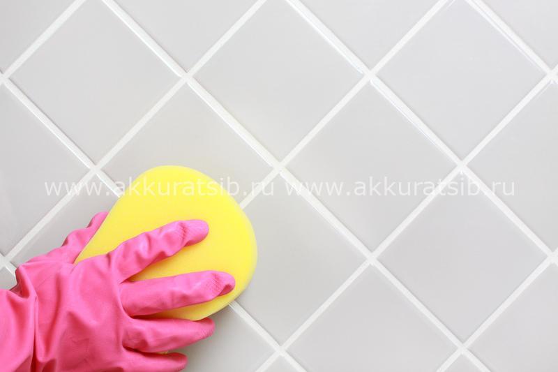 Как вымыть кафель